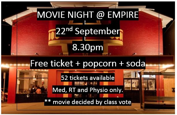 Movie Night @ Empire